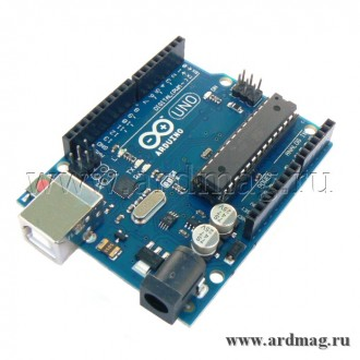 Arduino UNO R3 + кабель