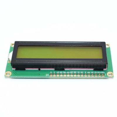 Дисплей LCD1602A, зеленый
