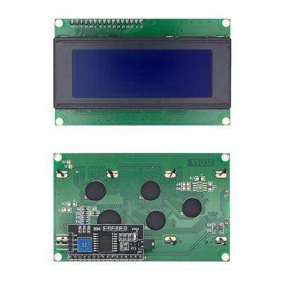 Дисплей LCD2004 с IIC/I2C, синий