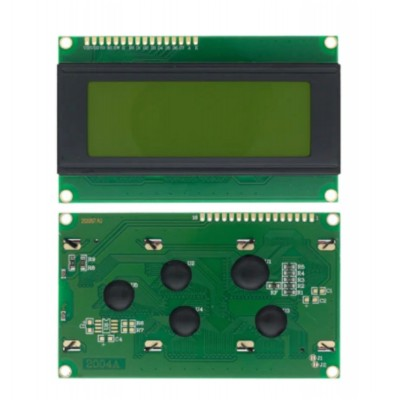 Дисплей LCD2004, зеленый