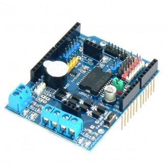 Motor Shield 2А L298P на 2 мотора для Arduino UNO/Mega