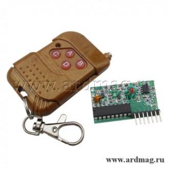Модуль беспроводного управления с пультом на базе 2262/2272