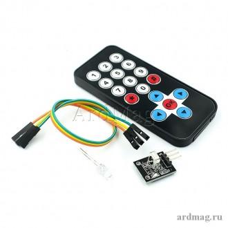 Комплект ИК приёмник HX1838 + пульт