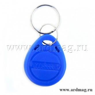 Ключ контроля доступа EM4100, синий