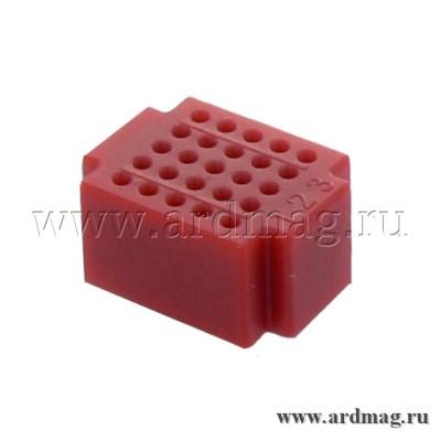 Макетная плата ZY25 (25 точек), красный