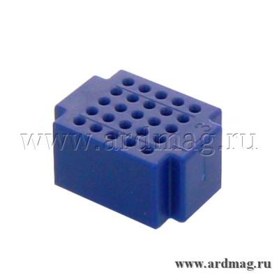 Макетная плата ZY25 (25 точек), синий