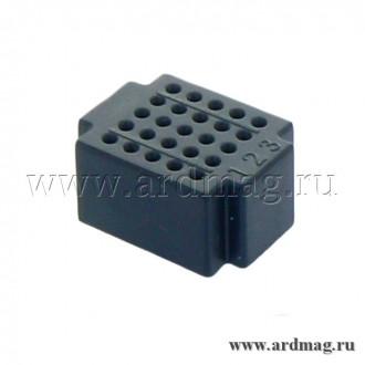 Макетная плата ZY25 (25 точек), черный
