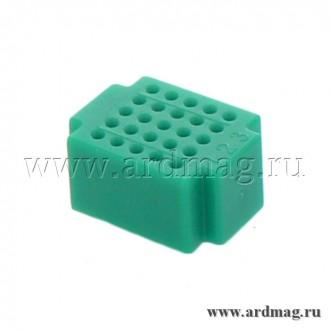 Макетная плата ZY25 (25 точек), зеленый