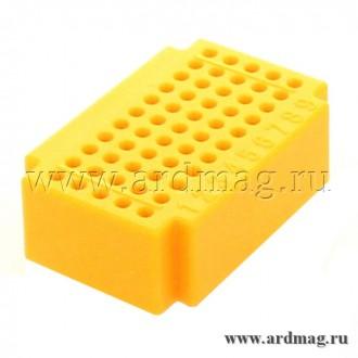 Макетная плата ZY55 (55 точек), желтый