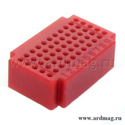 Макетная плата ZY55 (55 точек), красный