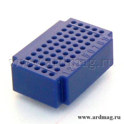 Макетная плата ZY55 (55 точек), синий
