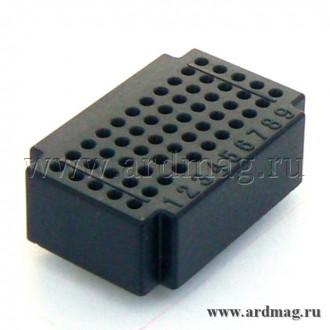 Макетная плата ZY55 (55 точек), черный