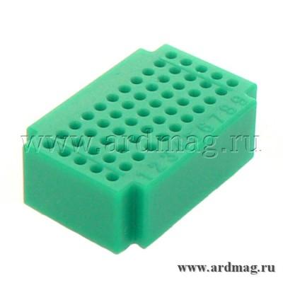 Макетная плата ZY55 (55 точек), зеленый