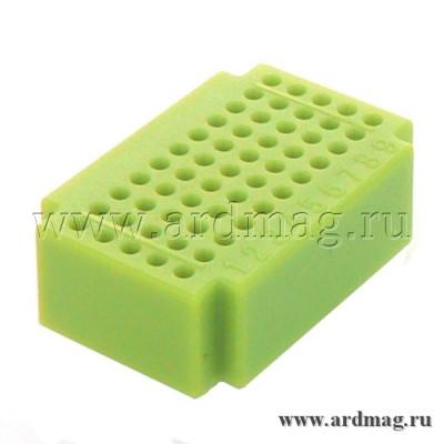 Макетная плата ZY55 (55 точек), светло-зеленый