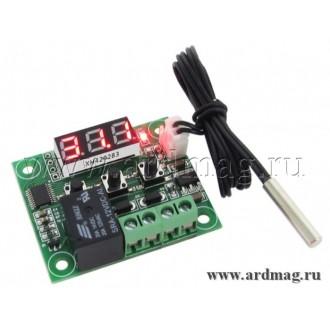 Датчик температуры с реле и LED дисплеем XH-W1209