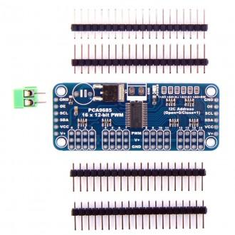 Контроллер управления сервоприводами CJMCU-PCA9685 на 16 каналов