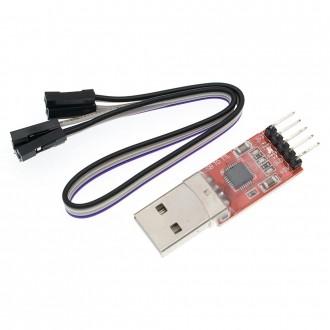 Конвертер USB-UART на базе чипа CP2102