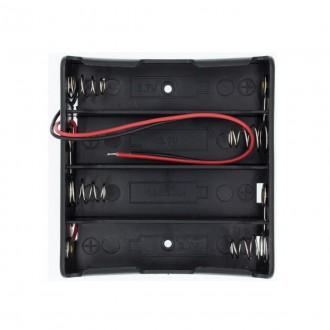 Батарейный отсек для аккумулятора 4x18650