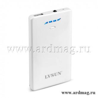 Внешний аккумулятор LVSUN LS-B300 3800mAh, белый