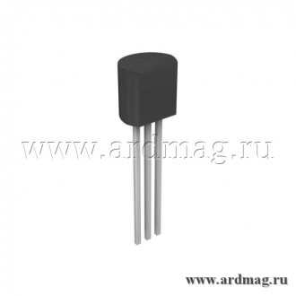 Транзистор 2N7000 TO-92 MOSFET N 60В/0.3А