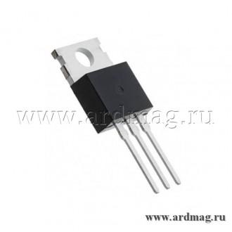 Стабилизатор напряжения L7805CV TO-220, 5V/1.5A