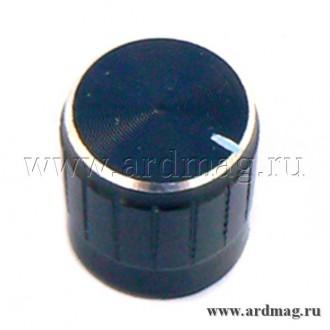 Ручка для потенциометра WH148 6мм., черный
