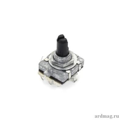 Энкодер EC16 15мм (D-образный вал, без фиксации положения)