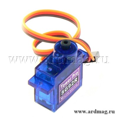 Сервопривод Tower Pro SG92R, аналоговый