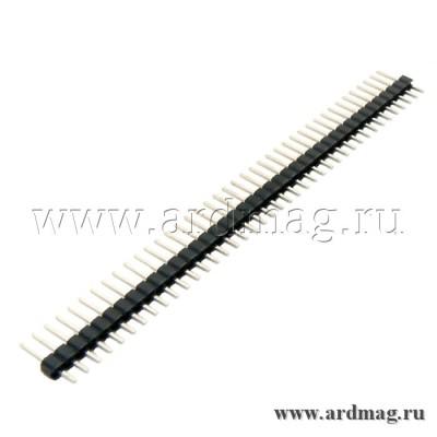 Штыревой соединитель 40pin, никель