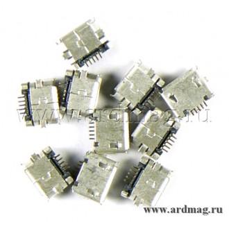 Разъем Micro-USB для монтажа на плату
