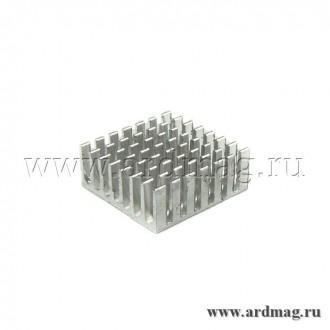 Радиатор алюминиевый 28*28*11мм.