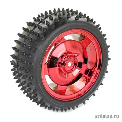Колесо 85 мм, красный