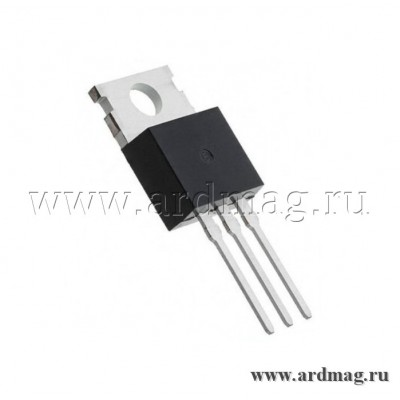 Транзистор IRL540 TO-220 MOSFET N 100В/24А
