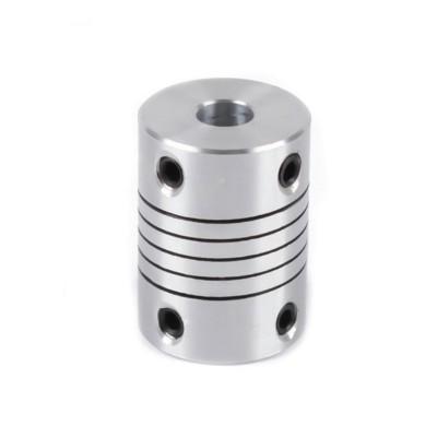 Компенсирующая алюминиевая соединительная муфта D19L25 5*8мм.