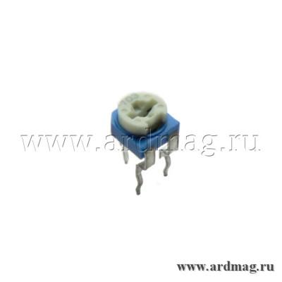 Потенциометр подстроечный RM065 500K (504)