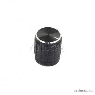 Ручка для потенциометра Q15*17A, черный