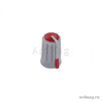 Ручка для потенциометра CZ3-B101, красный
