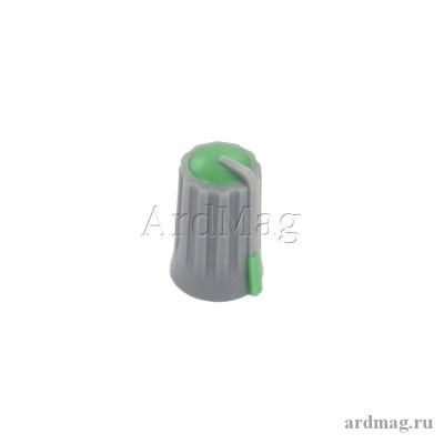 Ручка для потенциометра CZ3-B101, зеленый