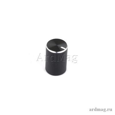 Ручка для потенциометра Q10*15A, черный
