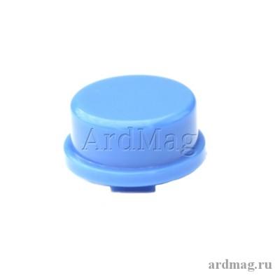 Колпачок для тактовой кнопки 12*12*7.3мм, синий