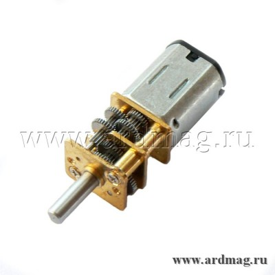 Мотор N20 6 В, 7 об/мин