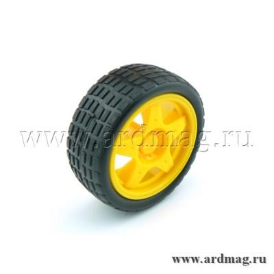 Колесо 65 мм D3A, желтый