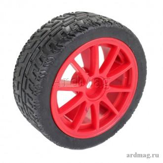 Колесо 65 мм K4, красный