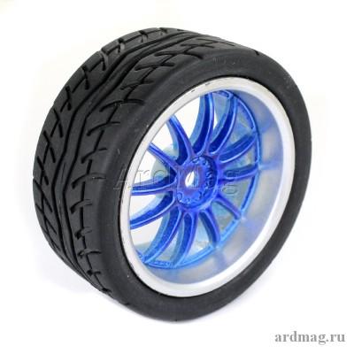 Колесо 65 мм K6, синий