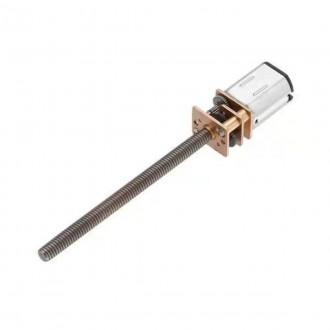 Мотор-редуктор N20 6 В, 200 об/мин c винтом М4*55