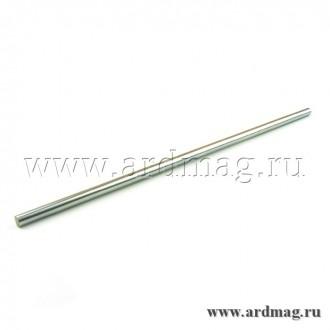 Полированный вал 8мм длина 0.5м, каленая сталь CK45