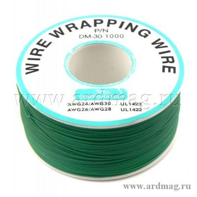 Провод для пайки (бобина) 250м. D проводника 0.203мм, зеленый