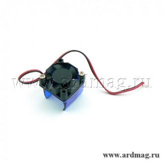 Кулер 3010 12В + клепление для E3D-V6
