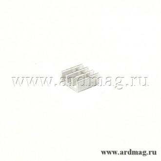 Радиатор алюминиевый 11*11*5мм