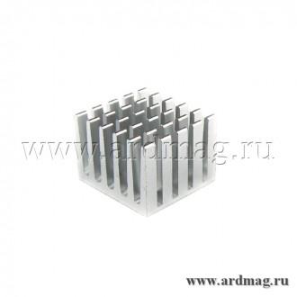 Радиатор алюминиевый 20*21*15мм
